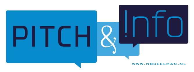 Pitch en Info, netwerken, Texel, ondernemers, Den Helder, Schagen, Kop van Noord-Holand