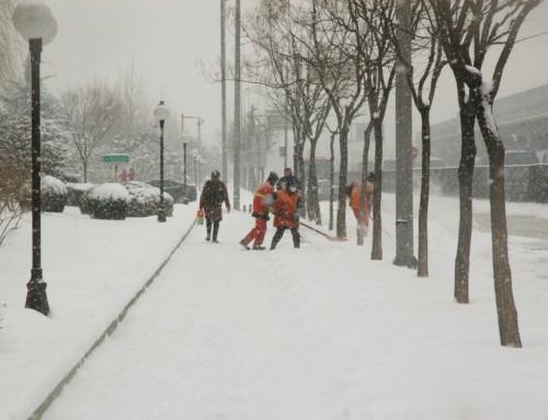 Personeel thuis vanwege het weer? Mogelijk recht op WW